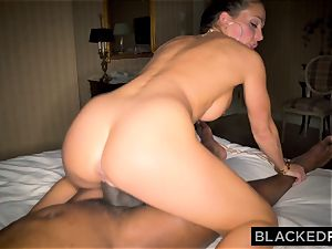 BLACKEDRAW Abigail Mac's spouse Sets Her Up With thickest bbc In The World