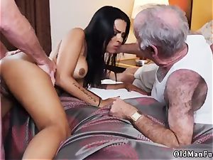 Jane penetrated by elderly stud adult cinema Staycation with a brazilian bombshell