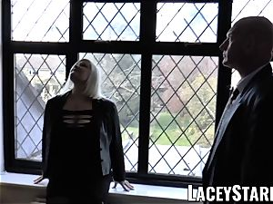LACEYSTARR - Mature English stunner penetrated and facialized