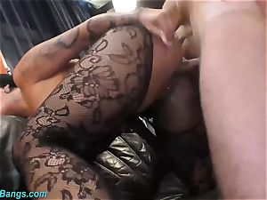 wild romp with buxom cougar Ashley jism starlet