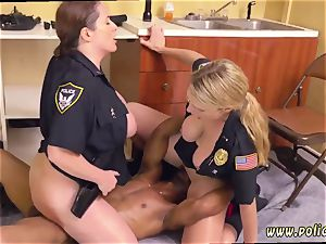 xxx rectal 3 way first-timer very first time black male squatting in home gets our cougar