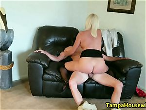 The Incall Series with horny blond