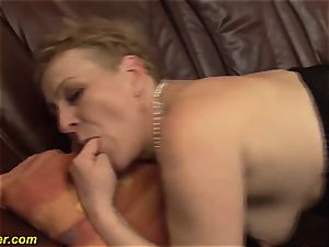 hairy stepmoms first-ever big facial
