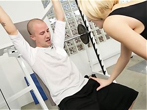 Kagney Linn Karter sexy gym fuckin'