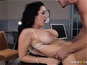 assistant Jayden Jaymes penetrates on the bosses desk