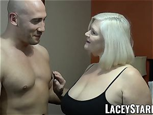 LACEYSTARR - GILF seduces meaty dicked otter into pounding
