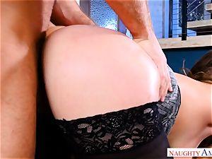 Natasha adorable toying with two dicks