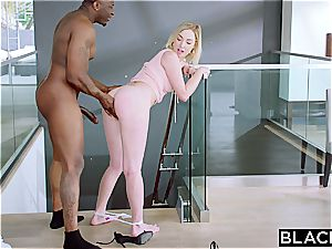 BLACKED Side doll Gets penalized With bbc