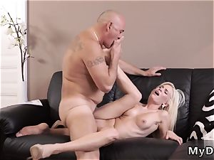 lush elder smash This lil hottie will flash you that young nymphs from time to time prefer