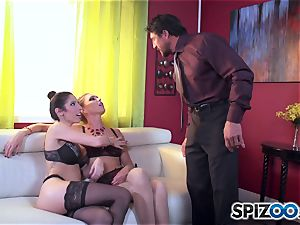 Dava Foxx caught with smoking super-hot Jessica Jaymes