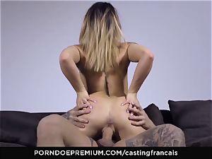 casting FRANCAIS - sumptuous fledgling first-ever porn ravage
