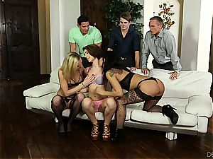 bday group sex surprise