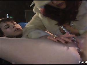 Dana gets dildo drilled
