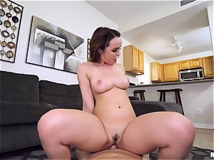 big udders Dillion Harper wants fucky-fucky with her sister's bf