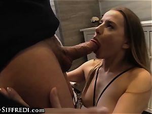 Rocco Siffredi european nubile GAG humps Her cougar eats cootchie