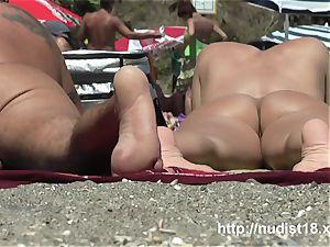 nudist beach hidden cam flick all nude