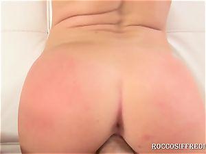 Rocco picks up super-sexy platinum-blonde by RoccoSiffredi