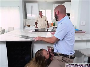 daddy in law tempt companion comrade s daughter very first time Alyssa Gets Her Way With