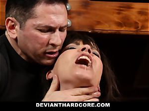 DeviantHardcore-Hot cougar pawed and cuffed To Cross