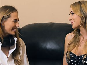 Carter Cruise and Blair Williams enjoy each others molten twats