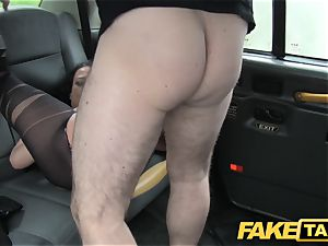 faux taxi Local hooker tears up cab stud
