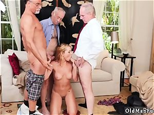gigantic boobs black-haired inexperienced blowage Frannkie And The gang Tag team A Door To Door Saleswoman
