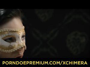 XCHIMERA - Office stunner practices sensuous fantasy smash