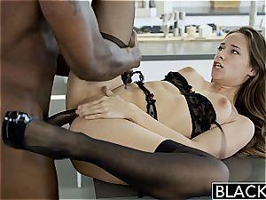 BLACKED My girlfriends super-steamy sis Cassidy Klein loves bbc
