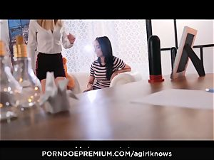 A female KNOWS - Francys Belle enjoys girly-girl assfuck have fun