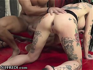 european fuck-a-thon party With double penetration assfuck woman On dame
