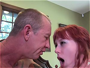 Zoey gets her DDs spanked