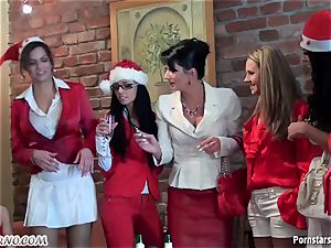 tipsy office female lezzy party with peeing