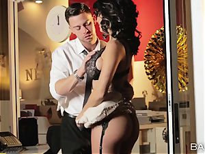 super-fucking-hot office hotty Peta Jensen has hook-up with her employees after work