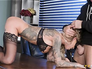 Karma Rx takes beaver boned in the office