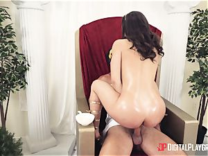 stellar slut romped in the bum at a costume party