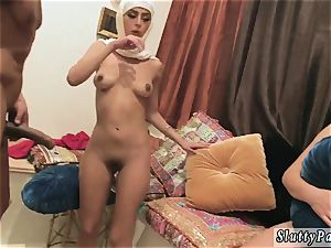 Dangerous blowage and dirty hd molten arab ladies try fourway