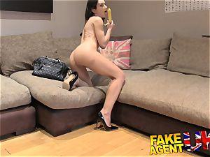 FakeAgentUK nice Italian takes a fruity anal invasion drilling