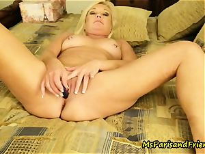 anal toy climaxes with Ms Paris Rose