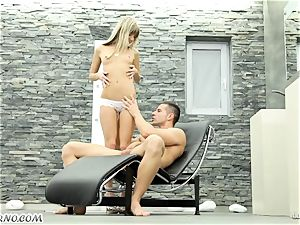 nubile cutie and her adult beau