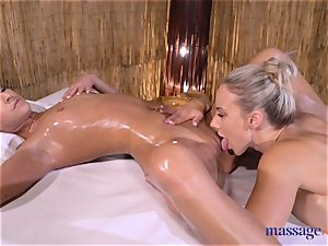 massage rooms fantastic black-haired Amirah Adara