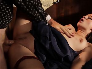 Cassidy Klein is shafted by a cowboys phat stiffy