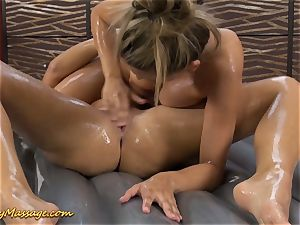 Real g/g slimy nuru massage romp