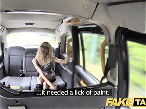 fake taxi skinny diminutive towheaded takes yam-sized spunk-pump