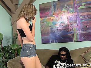 Alana Rains' first-ever bi-racial ass fucking episode