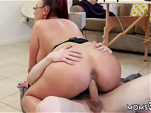 inexperienced cougar underwear threesome and elder weirdo assfuck She determined to instruct him a