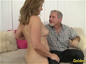 steamy to Trot mummy Catrina Costa Takes a thick meatpipe