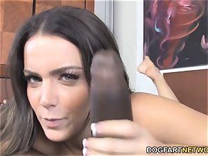 Natasha super-cute Wants To attempt multiracial pornography