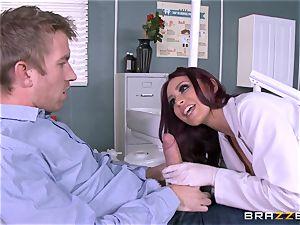 juicy dentist Monique Alexander inhales patients yam-sized fuckpole