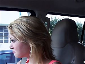 Kota Skye gets a cream colored facial after a pick up