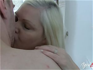 AgedLovE chesty Mature Lacey Starr xxx lover
